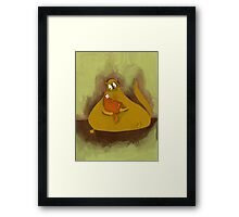 mother and a child Framed Print