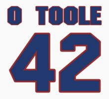 National baseball player Denny O'Toole jersey 42 by imsport