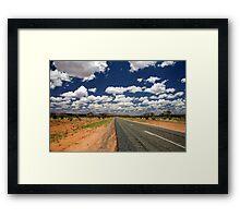 Outback Road Framed Print