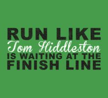 Run Like Tom Hiddleston is Waiting at the Finish Line by getgoing