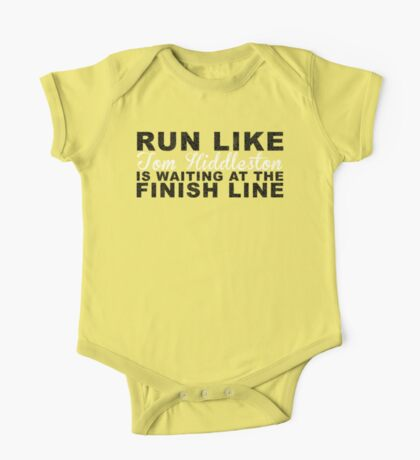 Run Like Tom Hiddleston is Waiting at the Finish Line One Piece - Short Sleeve