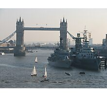 The Mighty Thames  Photographic Print
