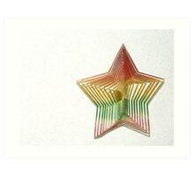 Star Shape Art Print