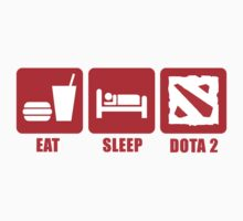 Eat, Sleep, DOTA 2 by craven-arts