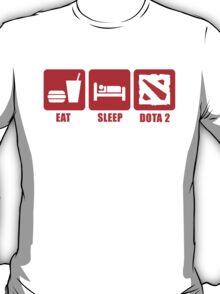 Eat, Sleep, DOTA 2 T-Shirt