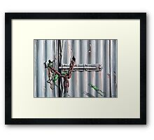 The Chain Gang Framed Print