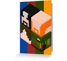 Super Best Cubes Greeting Card