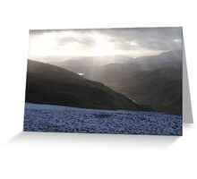 dec across the lakes Greeting Card