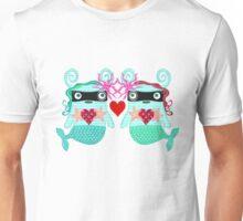 Mermaids in love Unisex T-Shirt