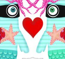 Mermaids in love Sticker