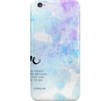 Lost for Words Calendar 2015 - January iPhone Case/Skin