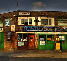 Crown Garage by Andy Harris