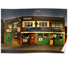 Crown Garage Poster