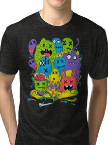 Test Tube Monsters Color Tri-blend T-Shirt