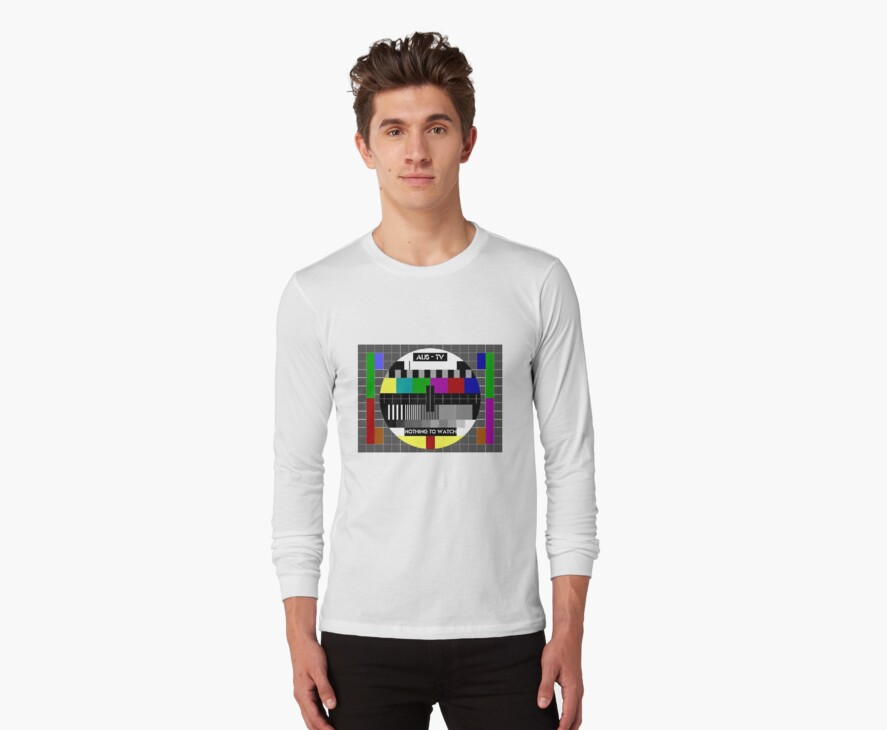 Test pattern tshirt by loganhille