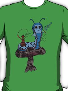 Hookah Smoking Catterpillar V3.0 T-Shirt