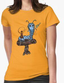 Hookah Smoking Catterpillar V3.0 Womens Fitted T-Shirt