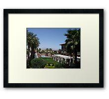 Luxury Resort Framed Print