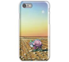 Two Moons in Gno Mans Land iPhone Case/Skin