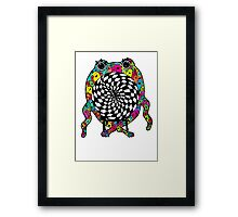 Warp Monster Framed Print