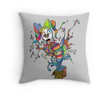 Jack In The Box Throw Pillow