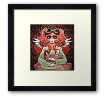 Hanbok Steam Punk Framed Print