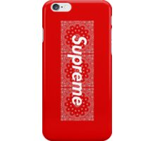 Supreme Red TNF Media Cases, Pillows, and More. iPhone Case/Skin
