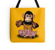 Clapping Monkey Tote Bag