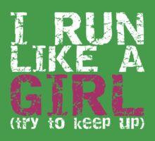 Run Like a Girl Kids Clothes
