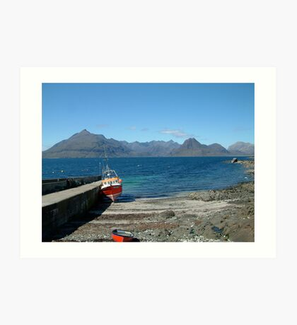 Skye Cuillin from Elgol Art Print