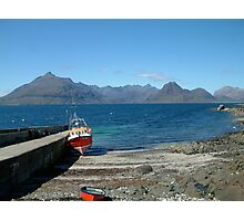 Skye Cuillin from Elgol Photographic Print