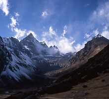 Entering the Himalayas by chrisdade