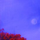 poppies and the noon moon by imajica