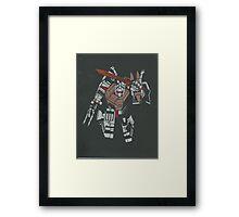 me grimlock Framed Print