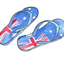 Aussie Feet by Monique Cutajar