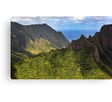 Jurassic Park Revisited Canvas Print