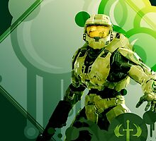 Master Chief - Halo by swanvalkyrie