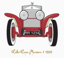 Rolls Royce Phantom I T-shirt and leggings Kids Clothes