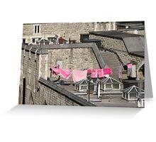 Guess Who Lives in the Tower of London Today? Greeting Card