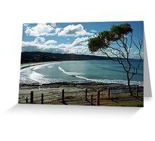 Lorne Beach Greeting Card