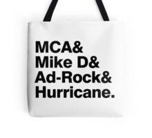 Beastie Boys members ampersand shirt Tote Bag