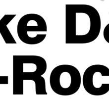 Beastie Boys members ampersand shirt Sticker