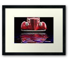 Red Hot Ford Framed Print