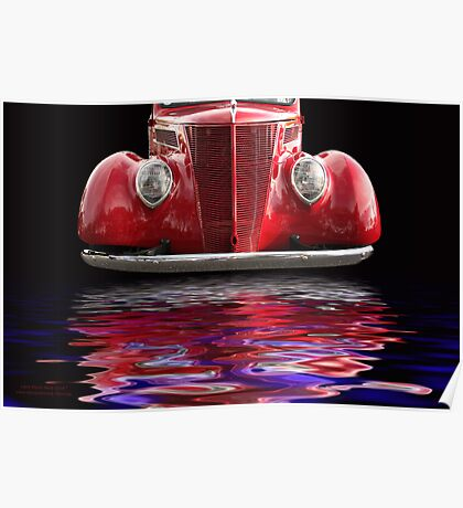 Red Hot Ford Poster