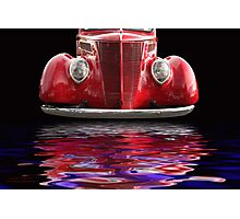 Red Hot Ford Photographic Print