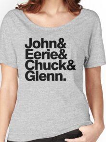 Danzig memember list ampersand shirt Women's Relaxed Fit T-Shirt