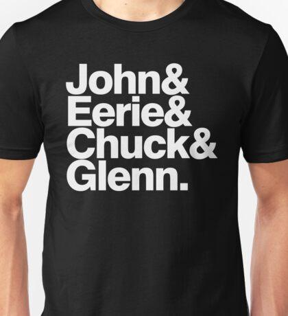 Danzig memember list ampersand shirt Unisex T-Shirt