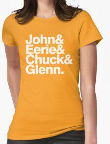 Danzig memember list ampersand shirt Womens Fitted T-Shirt