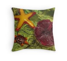 fanciful brightness Throw Pillow