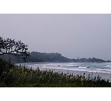 Stormy Bay - A Day at Minnie Waters Photographic Print